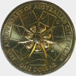 2009-C  One Dollar reverse