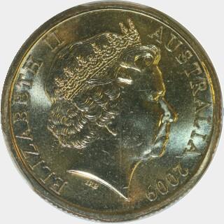 2009-C  One Dollar obverse