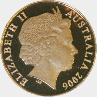 2006 Proof Two Cent obverse