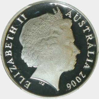 2006 Proof Five Cent obverse