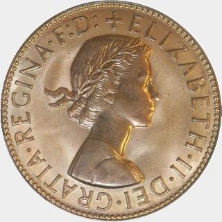 1958-Y Proof Penny obverse