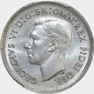 1952  Sixpence obverse