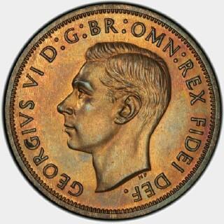 1951-PL Proof Penny obverse