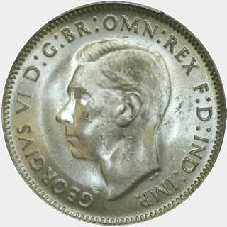 1948  One Shilling obverse