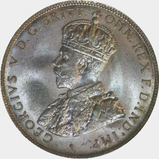 1917-M  Florin obverse