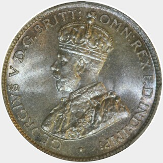 1924  Sixpence obverse