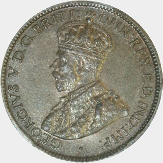 1925  Sixpence obverse