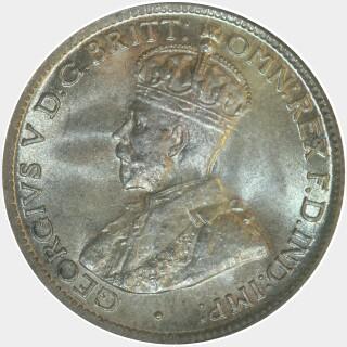1916-M  Sixpence obverse