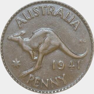 1941  Penny reverse