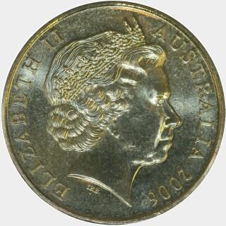 2006-M  One Dollar obverse
