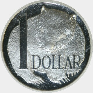 2004 Silver Proof One Dollar reverse