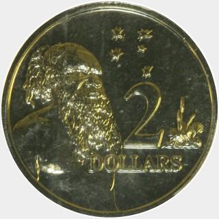 2008  Two Dollar reverse