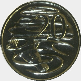 2007  Twenty Cent reverse