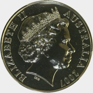 2007  Twenty Cent obverse