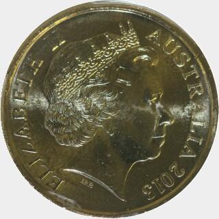2013  Two Dollar obverse