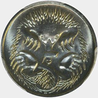 2001  Five Cent reverse