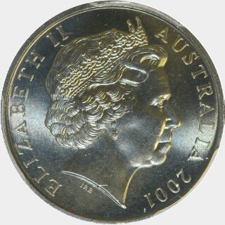 2001  Five Cent obverse
