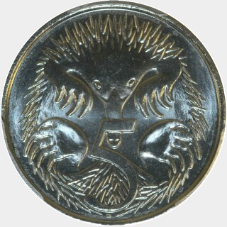 2016  Five Cent reverse