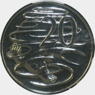 2009  Twenty Cent reverse