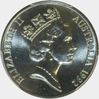1992  Five Cent obverse