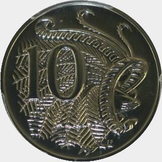 2007  Ten Cent reverse