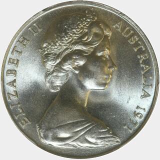 1971  Ten Cent obverse