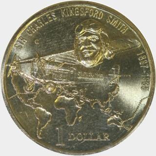 1997-C  One Dollar reverse