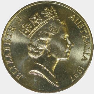 1997-C  One Dollar obverse