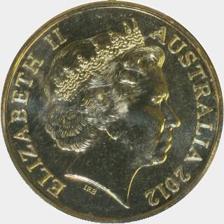 2012-C  One Dollar obverse