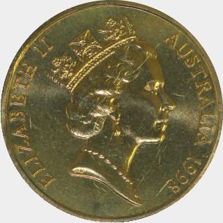 1998-A  One Dollar obverse