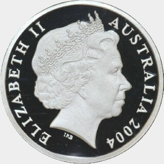 2004 Silver Proof One Dollar obverse