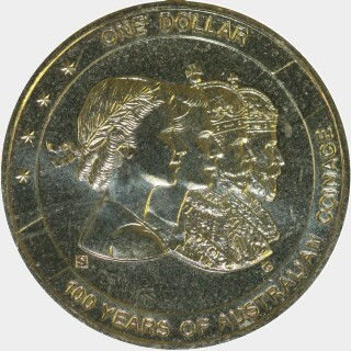 2010-S  One Dollar reverse
