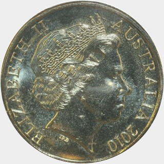 2010-H  One Dollar obverse
