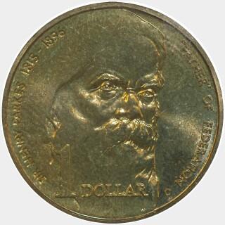 1996-C  One Dollar reverse