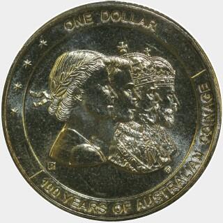 2010-P  One Dollar reverse