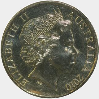 2010-P  One Dollar obverse