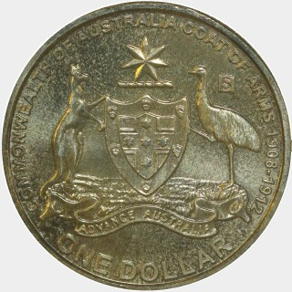 2008-S  One Dollar reverse