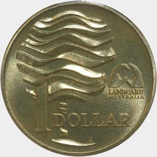 1993-S  One Dollar reverse
