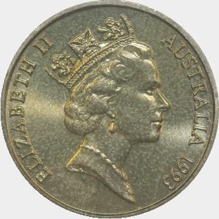1993-S  One Dollar obverse