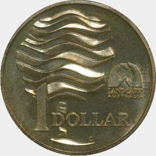 1993-C  One Dollar reverse