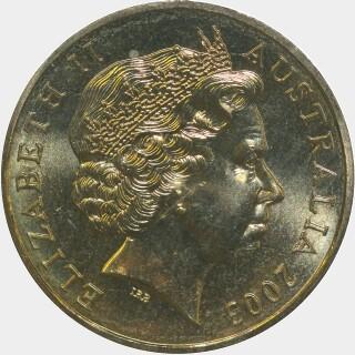 2003-M  One Dollar obverse