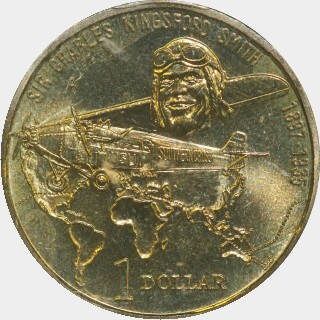 1997-A  One Dollar reverse