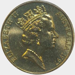 1997-A  One Dollar obverse