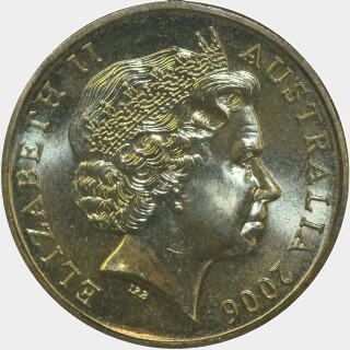 2006-B  One Dollar obverse