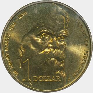 1996-A  One Dollar reverse