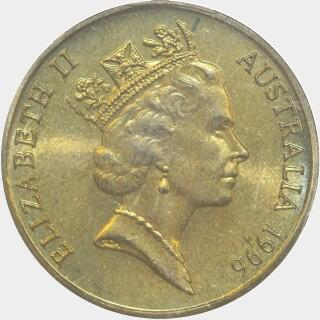1996-B  One Dollar obverse