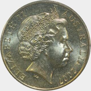 2007-S  One Dollar obverse