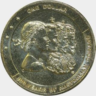 2010-C  One Dollar reverse