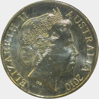 2010-C  One Dollar obverse
