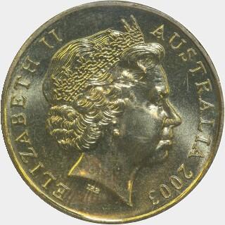2003-S  One Dollar obverse